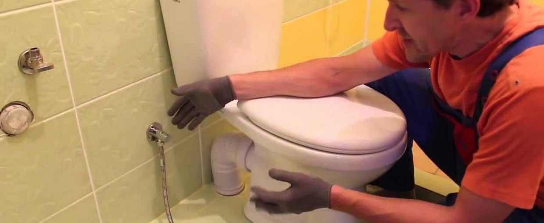 Монтаж, установка, замена ремонт унитаза и сливного бачка СПб