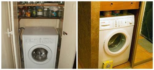 Установка и подключение стиральной машины в коридоре, прихожей СПб