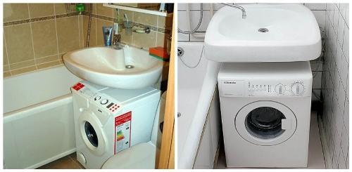 Установка и подключение стиральной машины в ванной СПб