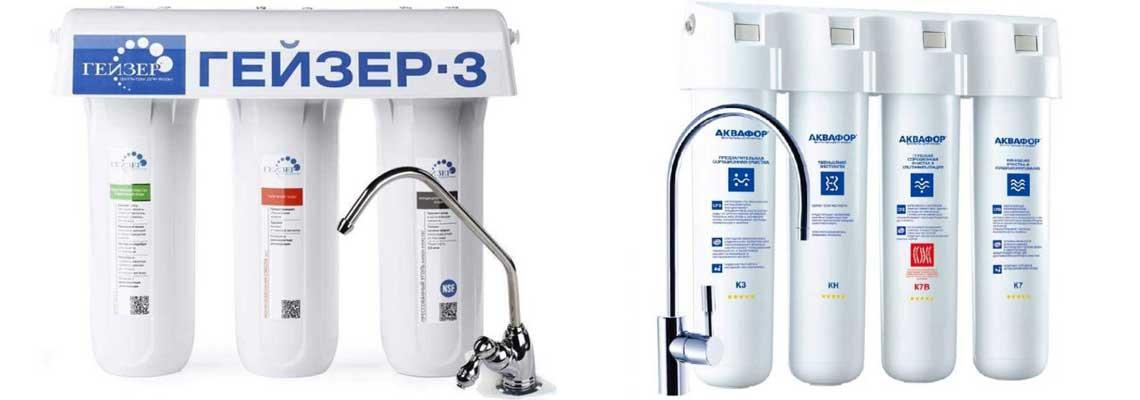 Установка фильтра очистки воды в квартире, частном доме СПб