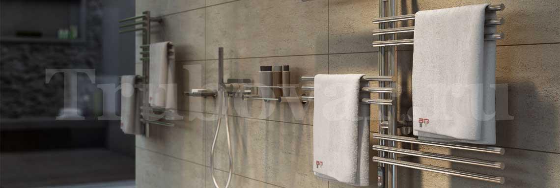 Замена, установка полотенцесушителя в ванной СПб