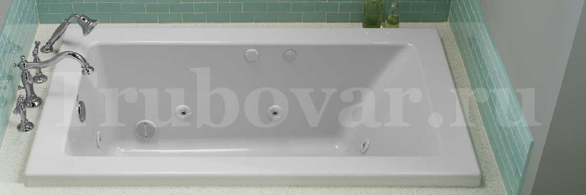 Установка гидромассажной ванны под ключ в СПб