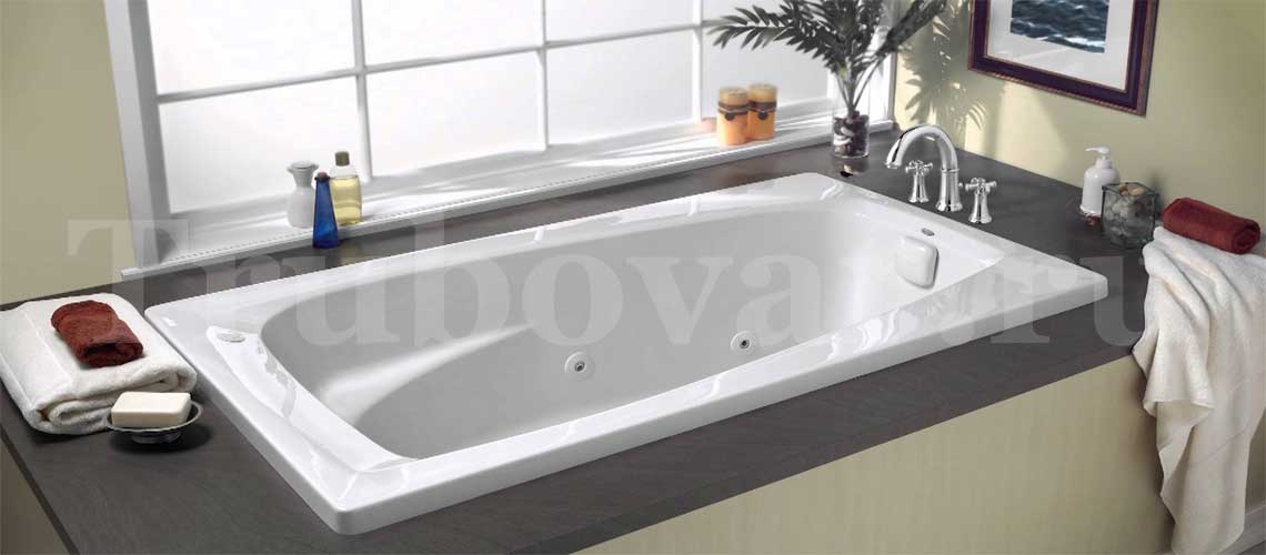 Установка ванны, джакузи в квартире, частном доме СПб