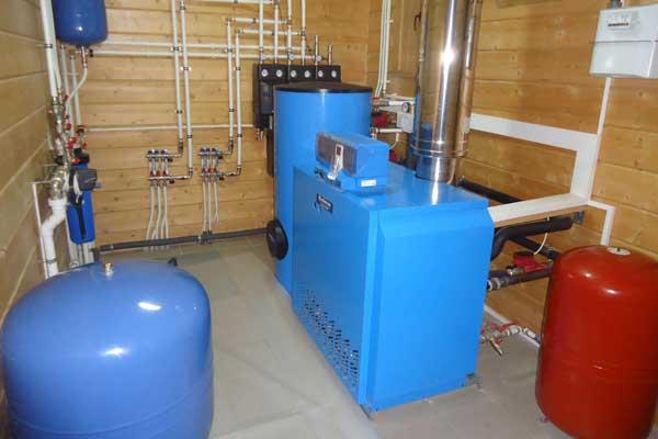 Отопление в частном доме Отопление в коттедже